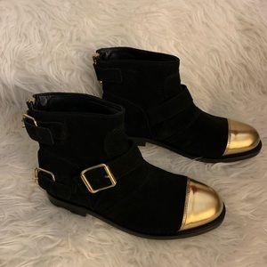 Balmain Shoes - Balmain x H&M Suede & Leather Boots